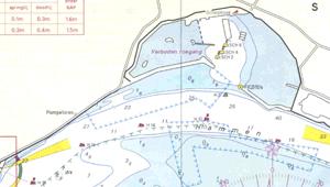 Waterkaart schelphoek